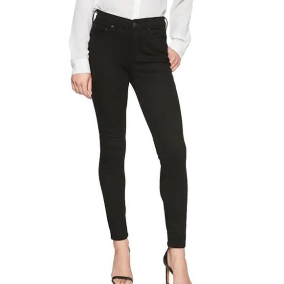 Banana Republic Factory Denim - NWT BanRep Curvy Fit Skinny Jeans 27 Black c80